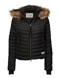 earth saver jacket - ALMOST BLACK