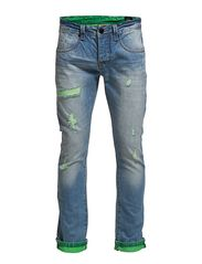 One Green Elephant M blue denim, slim straight DD
