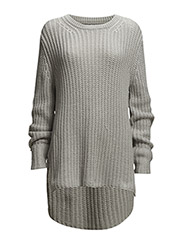 HARVEY CHUNKY KNIT - GREY