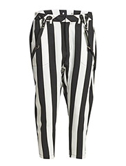 LE PLAYER PANTS - BLACK/WHITE