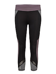 onpMALICA 3/4 TRAINING TIGHTS - BLACK