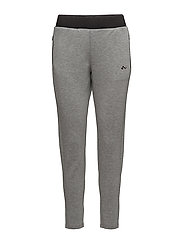onpFIONA SLIM SWEAT PANTS - MEDIUM GREY MELANGE