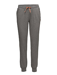 onpSAMA BRUSHED SWEAT PANTS - MEDIUM GREY MELANGE
