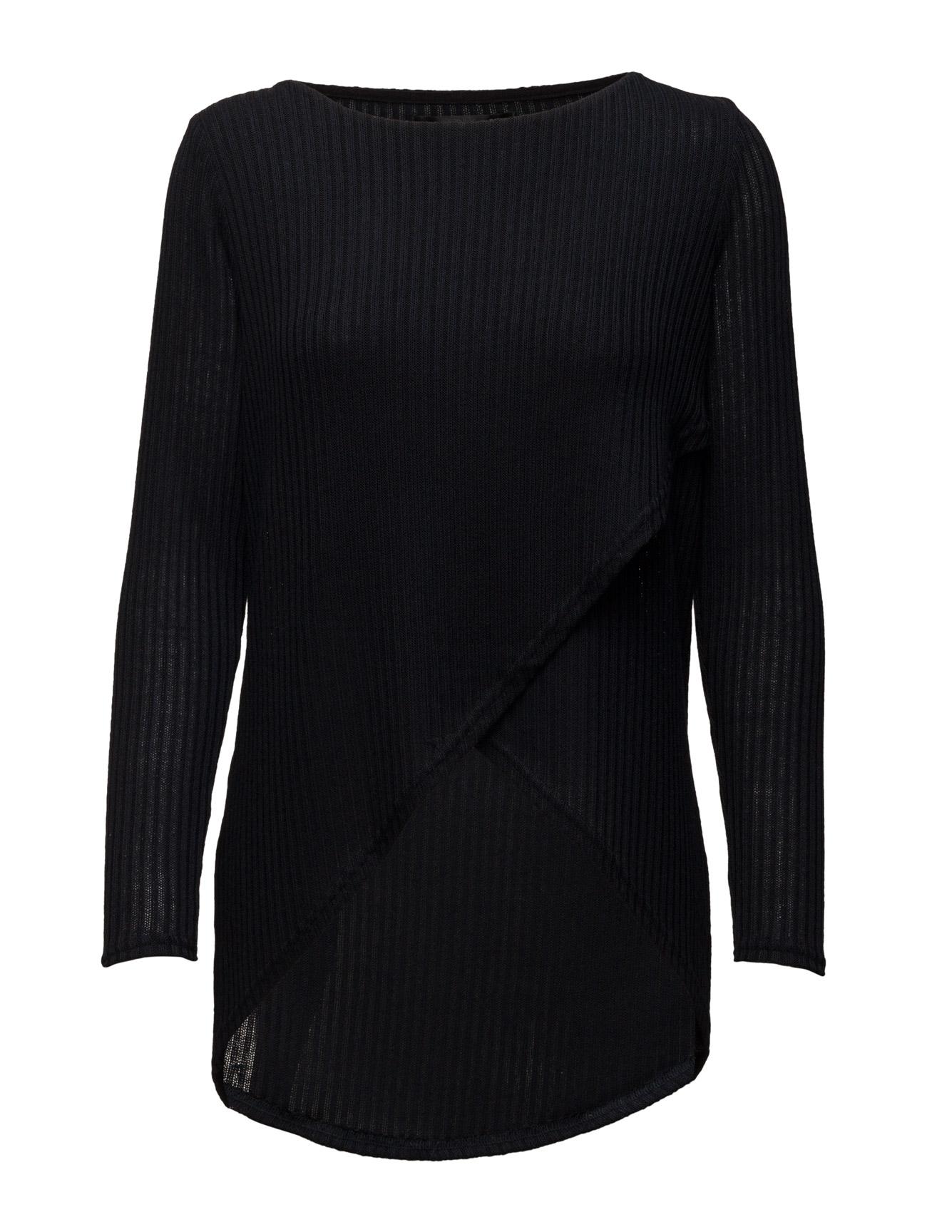 Onldhaka L/S Twist Pullover Knt ONLY Sweatshirts til Kvinder i Mørk Navy