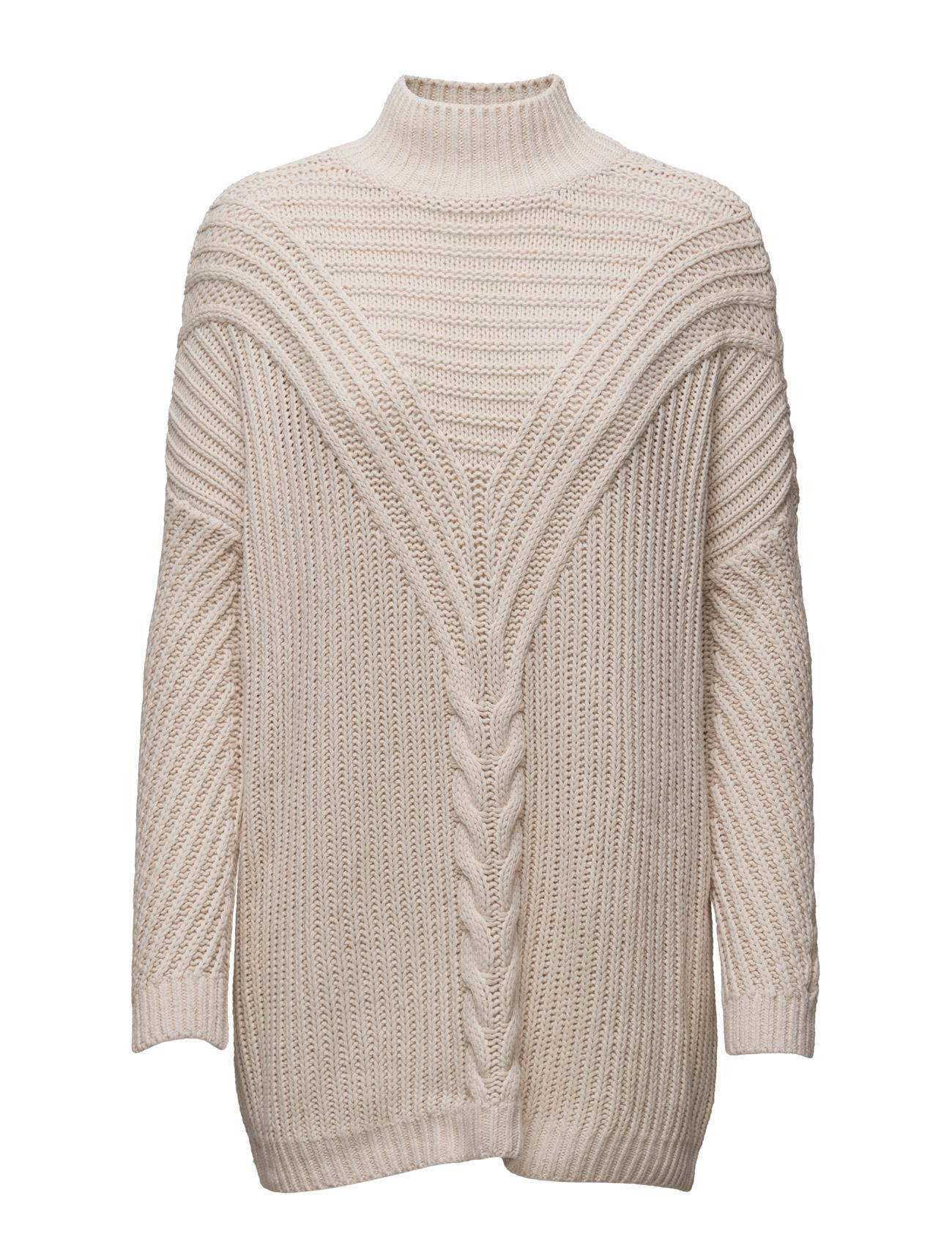 Onlstockholm L/S Highneck Pullover Knt ONLY Højhalsede til Damer i