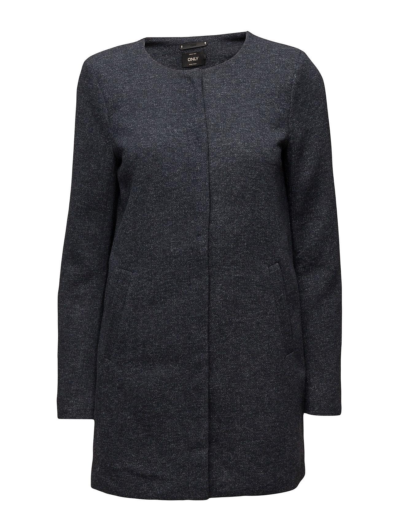 Onlsidney Light Melange Coat Cc Otw ONLY Frakker til Kvinder i