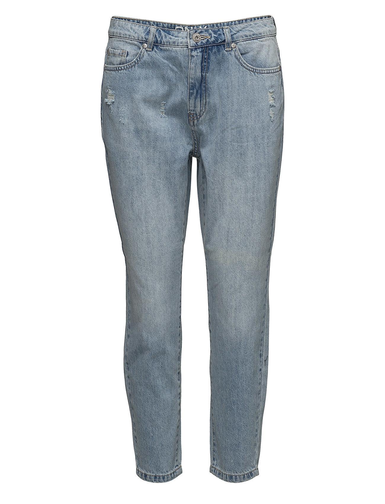 8db37115ac22 Shop Onltonni Bf Dnm Destroy Jeansbj7871 ONLY Jeans i til Damer hos Boozt.dk