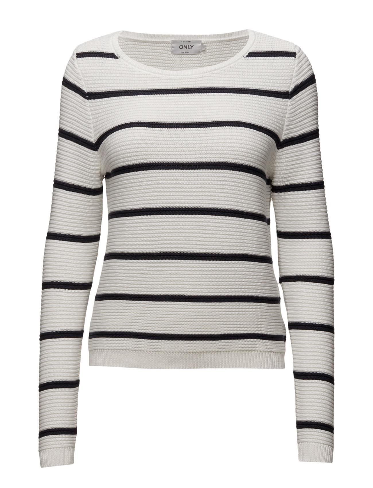 Onlamy L/S  Pullover Knt ONLY Sweatshirts til Kvinder i Cloud Dancer