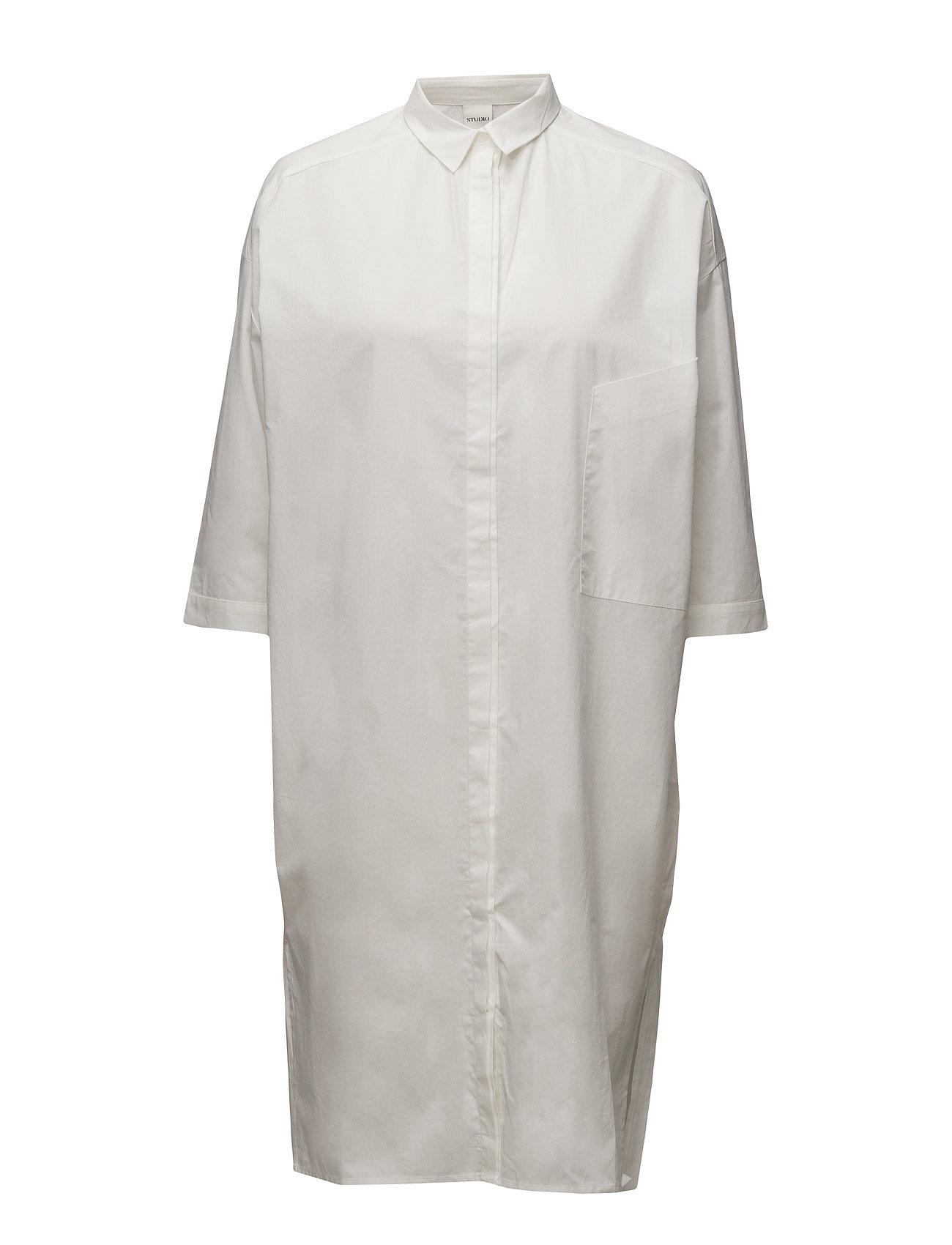 Stualette 3/4 Long Shirt ONLY Langærmede til Damer i Bright White