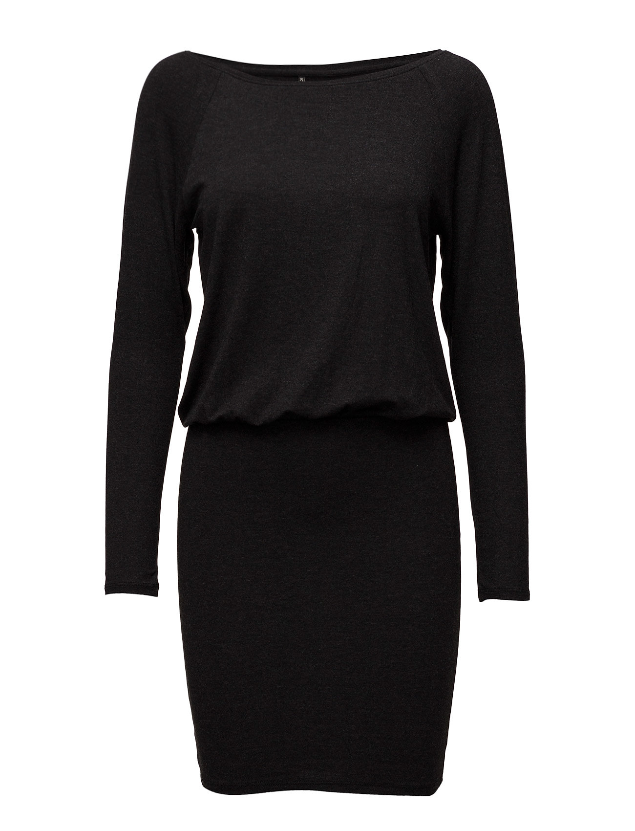 Onlsarah L/S Dress Ess ONLY Korte kjoler til Damer i Mørk grå