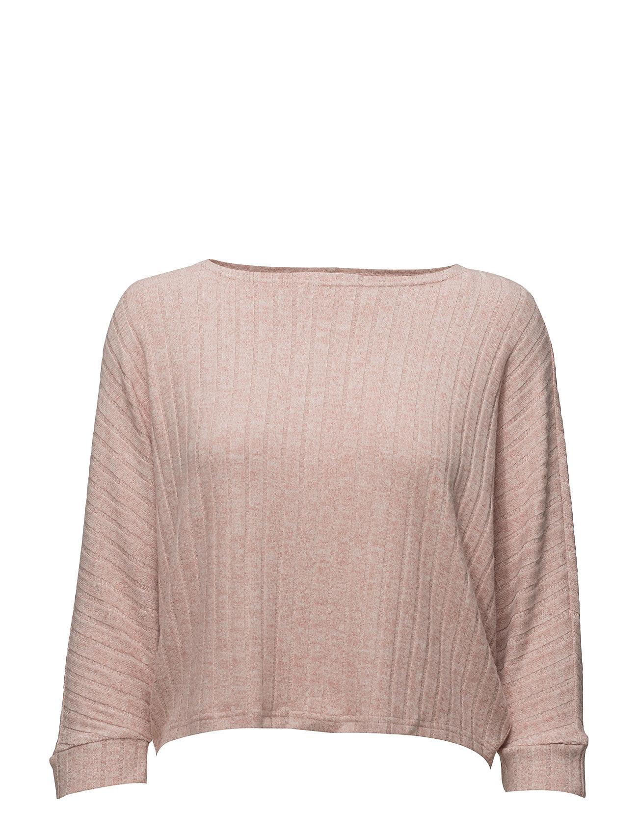 Onlida Rib 3/4 Pullover Knt ONLY Sweatshirts til Damer i Rose Dawn