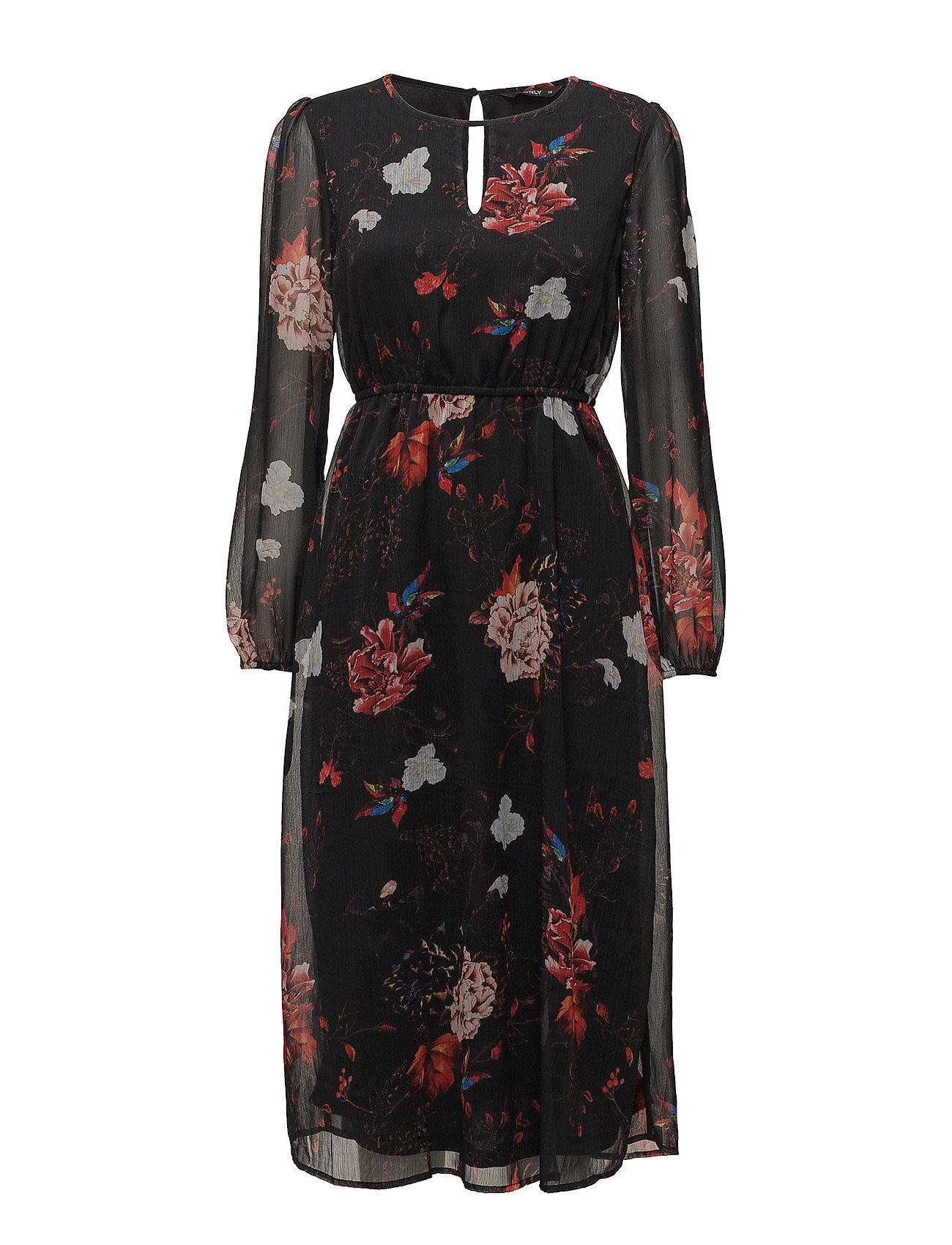 Onloda L/S Aop Midi Dress Wvn ONLY Dresses thumbnail