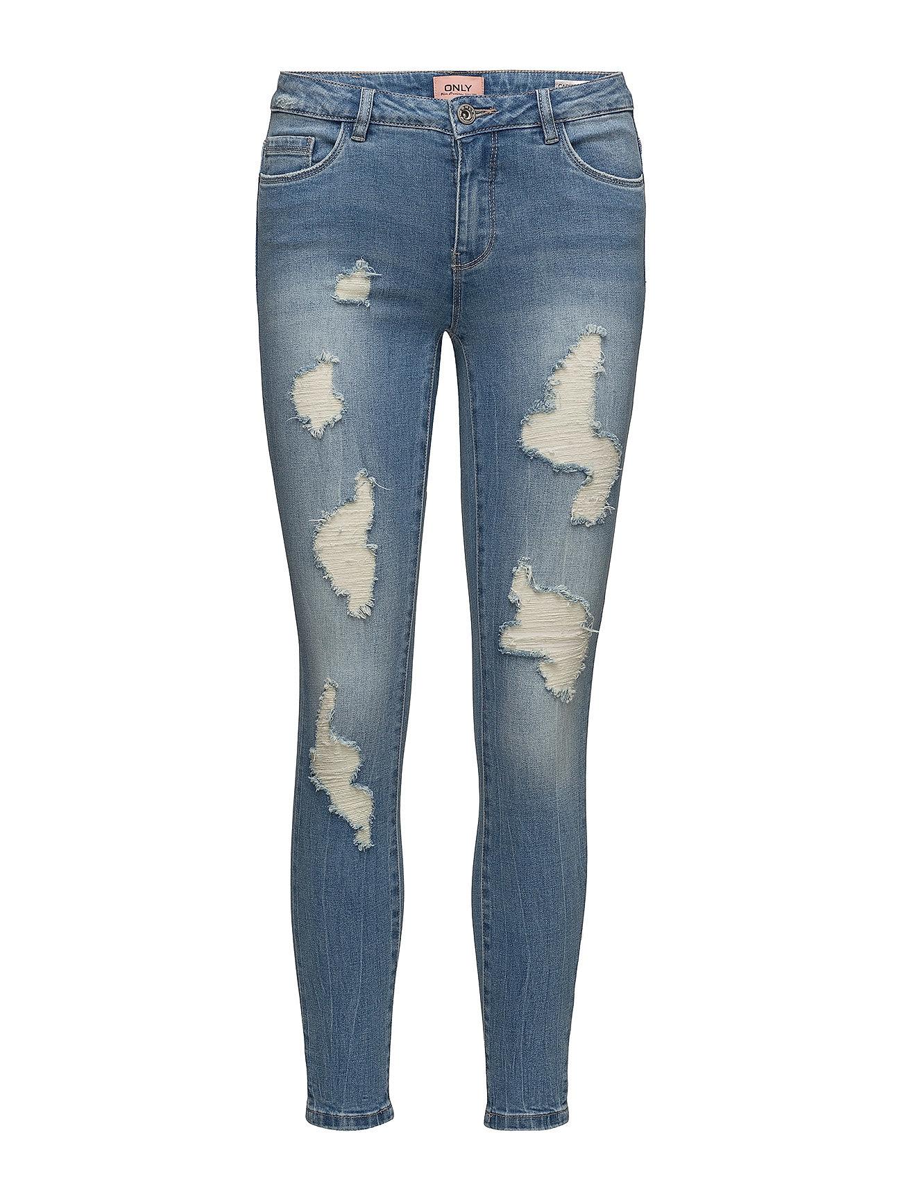 onlcarmen reg sk an dest jeans bj11123 1 medium blue denim only. Black Bedroom Furniture Sets. Home Design Ideas