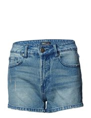 PINNIE HIGHWAISTED DENIM SHORTS BOX