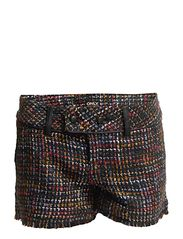 ONLY EVELYN TWEED SHORTS WVN
