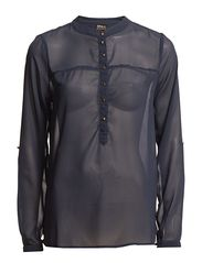 ONLY JUDITH LS PLACKET BLOUSE