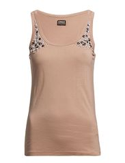 ONLY COMAS PEARL LONG TANK TOP