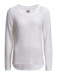 GEENA LS PULLOVER NOOS - White