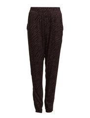 NELLY LOOSE PANTS WVN - BLACK