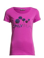 PLAY HANNA SS TOP - Magenta Buzz