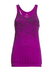 PLAY PIPER BOXER TOP - Magenta Buzz