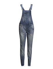onlKIM WITTY OVERALL LONG D13-304B DNM - Medium Blue Denim