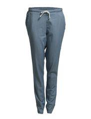 D2 MANOLO STRING PANTS WVN - Blue Indigo