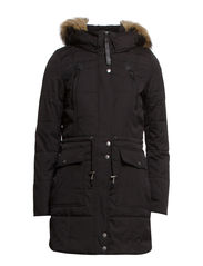 MOUNTAIN NYLON PARKA OTW - Black