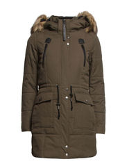 MOUNTAIN NYLON PARKA OTW - Peat