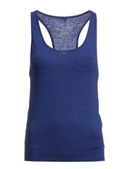 ELLY SL BOXER TANK TOP ESS - Twilight Blue