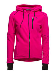 PLAY JENNA ZIP FLEECE - Pink Glo