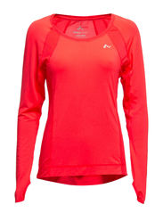PLAY CLAIRE LS TRAINING TOP - Diva Pink