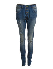 ANTIFIT LIZZY DENIM JEANS BJ3648 - Medium Blue Denim