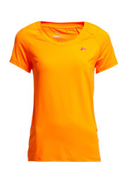 PLAY PAIGE SS TRAINING TOP - Neon Orange