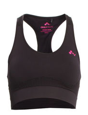 PLAY MAIA SEAMLESS SPORTS TOP - Black