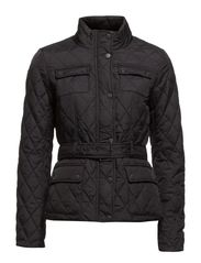 PAULA QUILTED NYLON JACKET OTW - Black