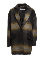 ART OVERSIZED WOOL COAT OTW - Black