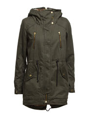 JANE CANVAS PARKA OTW - Peat