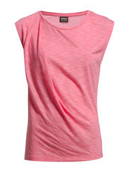 TWIST S/L TOP BB JRS - Camellia Rose
