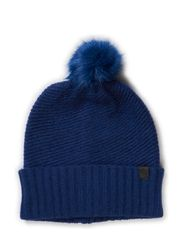 MIKAELA KNIT HAT ACC - Twilight Blue