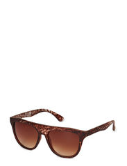 SUNGLASSES BOX WITH DISPLAY ACC - Cognac