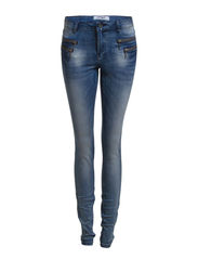 OLIVIA DENIM BLUE BJ4042 NOOS - Medium Blue Denim