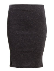 VEGA PENCIL SKIRT ESS - Dark Grey Melange