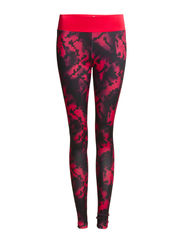 PLAY LESLEY AOP TRAINING TIGHTS - Diva Pink