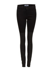 ULTIMATE DETAIL COATED SOFT PANT PNT - Black