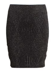 WEB  SKIRT JRS - Black