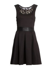 THERESA S/L DRESS JRS - Black