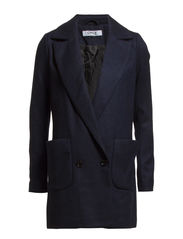 PAULINE WOOL COAT OTW - Navy Blazer