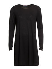 onlESTELLE L/S DRESS D2 JRS - Black
