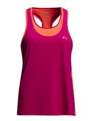 PLAY YVONNE SL DOUBLE TRAINING TOP - Fuchsia Purple